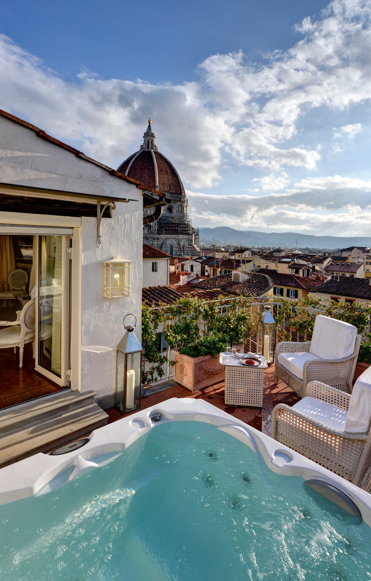hotel Firenze con jacuzzi